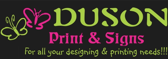 Duson - Print & Signs - For all your printing needs